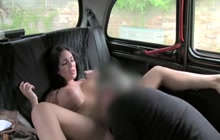 Taxi driver fucked hot babe