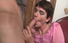 Horny mother in law needs a hard cock